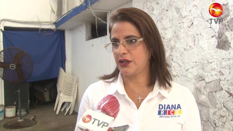 Detiene inseguridad campaña de Diana Rice en zona rural