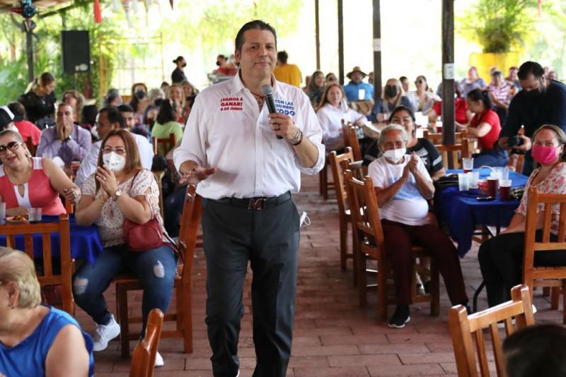 Ya se huele el triunfo, ya se siente que los mejores días de Sinaloa están por venir: Mario Zamora