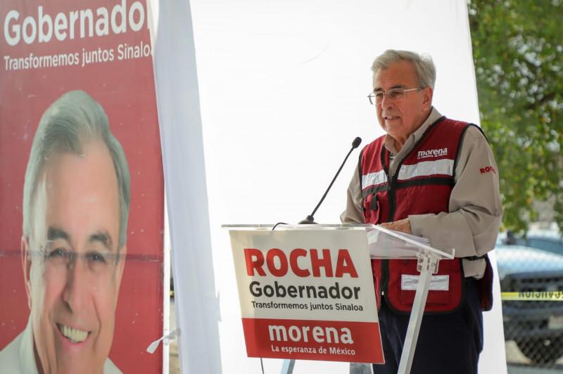 Corrupción deriva en inundaciones en colonias y comunidades; eso se acabó, advierte Rocha Moya