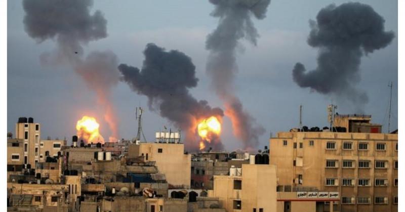 Israel y Palestina cerca de la guerra:  850 cohetes son respondidos con 500 bombardeos
