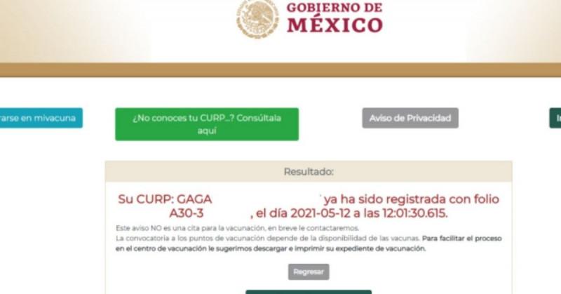 Web mivacuna.salud.gob.mx presenta fallas y permite registro a mujeres sin estar embarazadas