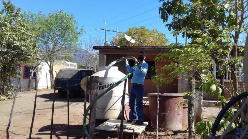 25 mil habitantes de Culiacán sufren por el estiaje