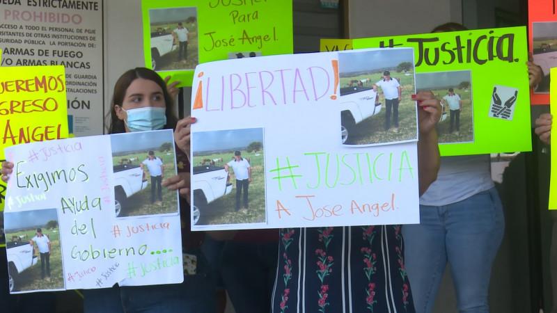 Familiares de agricultor secuestrado piden agilidad en la investigación; se manifestaron en la Visefiscalía