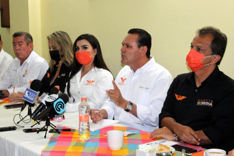 Haremos un Gobierno solidario y humanista: Sergio Torres