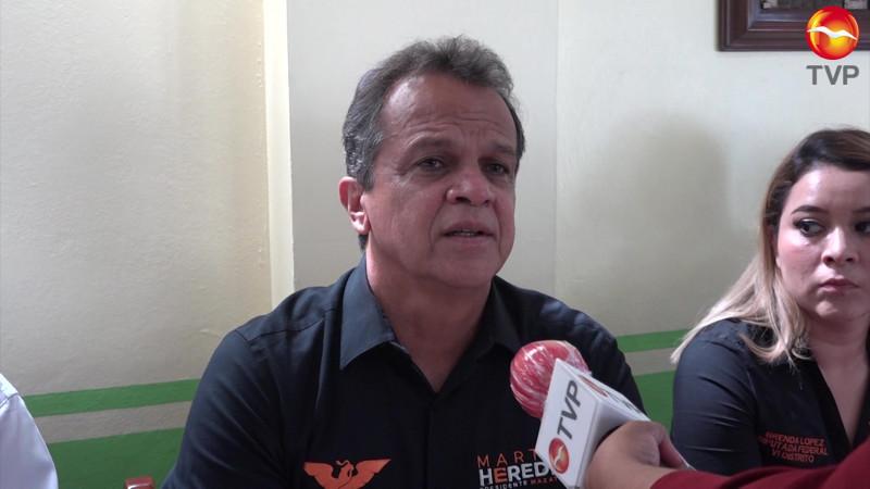 Fuera de foco, así ve Martín Heredia a las autoridades en Mazatlán