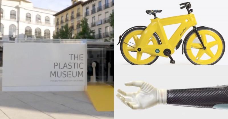 Este museo está 100% hecho de plástico y será reciclado totalmente el 17 de mayo