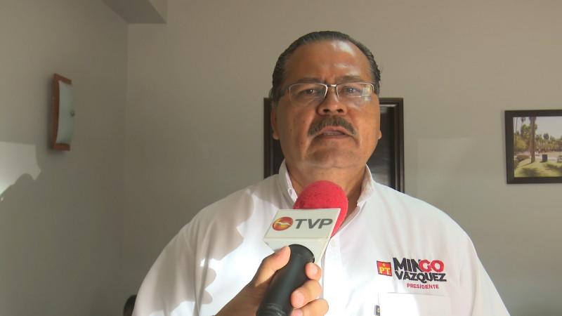 Debatiremos con propuestas; no caeremos en guerra sucia: Mingo Vázquez