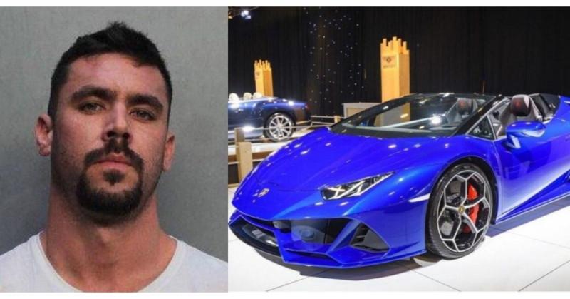 Seis años de cárcel a empresario que estafó al gobierno y con el dinero se compró un Lamborghini