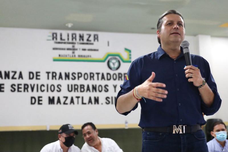 Transportistas respaldan proyecto de gobierno de Mario Zamora