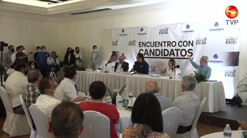 Dará Mario Zamora respaldo al sector empresarial