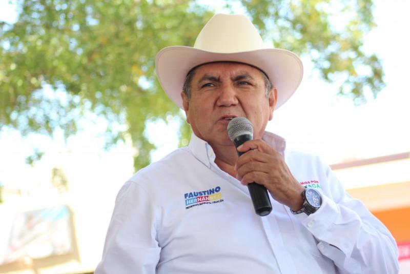 No se regatearán prestaciones a policías, al contrario daremos más apoyo, promete Faustino Hernández