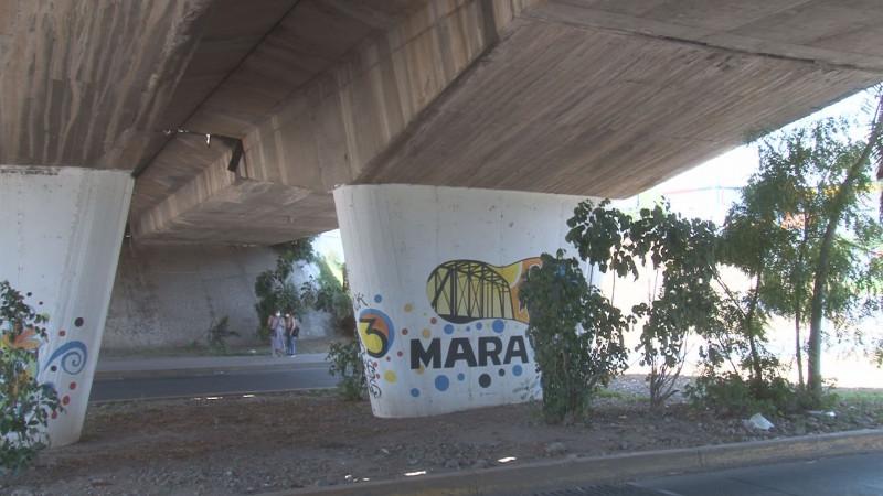 Revisan condiciones de los puentes de Culiacán