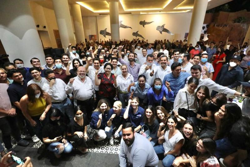 Propone Mario Zamora un Sinaloa Joven de emprendedores