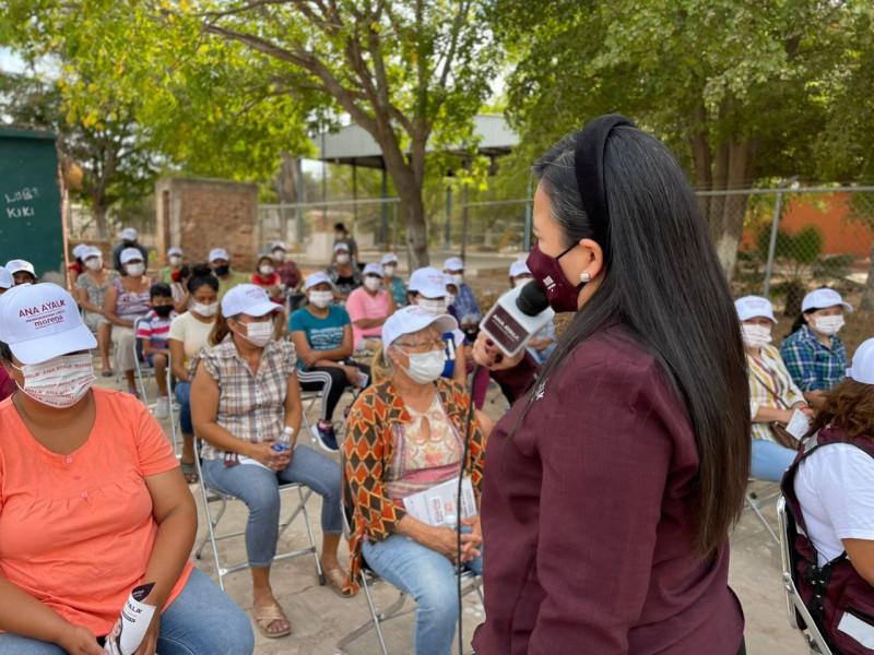 Ana Ayala busca ser la voz de los Ahomenses en el Congreso de la Unión