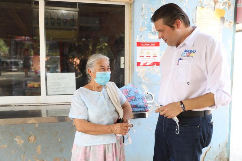 Hace Mario Zamora compromisos con la gente de Navolato