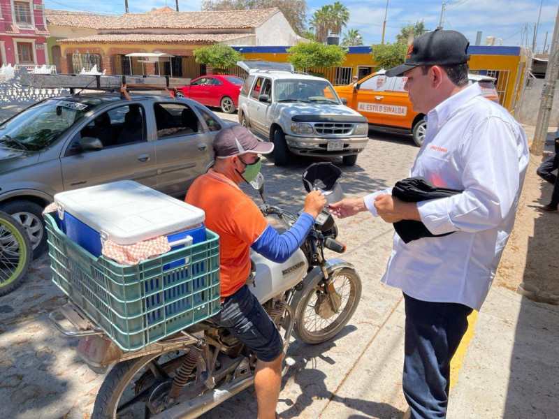 Mi Gobierno será solidario con comerciantes y empresarios: Sergio Torres