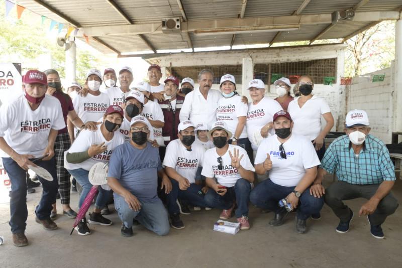 Culiacancito brinda su total respaldo a Jesús Estrada Ferreiro