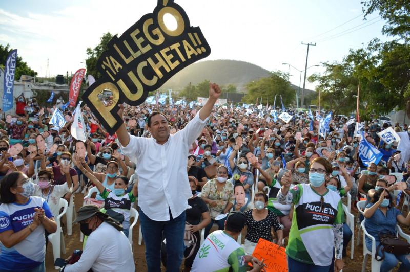 En un multitudinario evento, Fernando Pucheta llama a salir a votar