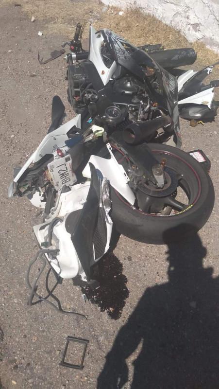 Muere motociclista mazatleco que iba a carrera en Durango