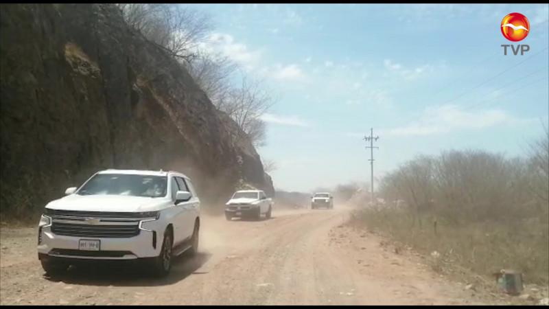 En recorrido misterio, visita AMLO el sur de Sinaloa