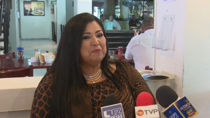 Sigo firme en busca de la gubernatura y no declinare: Rosa Elena Millán