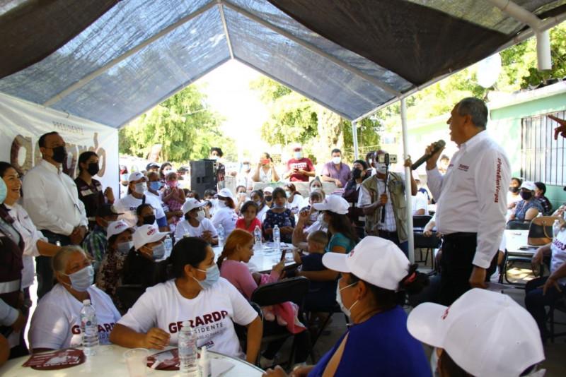 Servicios públicos de calidad para colonias populares, serán de las primeras acciones de gobierno: Gerardo Vargas Landeros