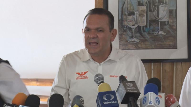 No declinaré  mi candidatura a favor de otro aspirante a gobernador: Sergio Torres