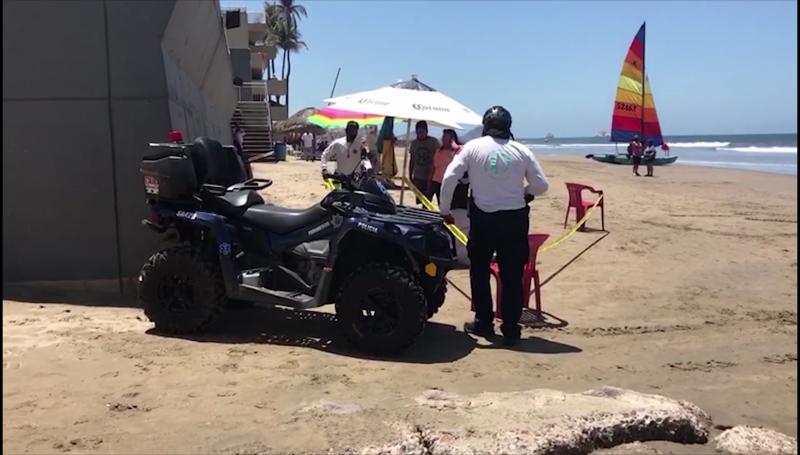 Muere ahogado turista de Guadalajara en Mazatlán