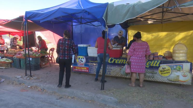 Repuntan las ventas en los tianguis de la ciudad de Los Mochis