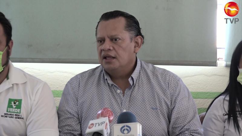 Designa el Partido Verde nuevos candidatos en Sinaloa
