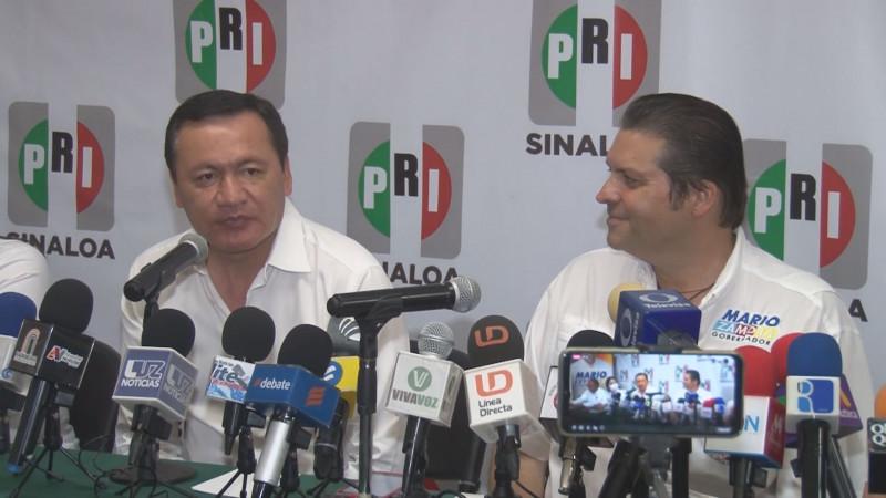 Conforme avanzan los días MORENA pierde credibilidad: Osorio Chong