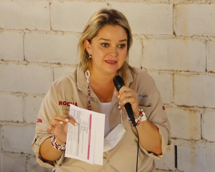 En Navolato la prioridad de Rubén Rocha es el bienestar  De las familias: Eneyda Rocha Ruiz