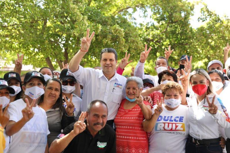 Se siente el buen ambiente y vamos a ganar el 6 de junio, afirma Mario Zamora