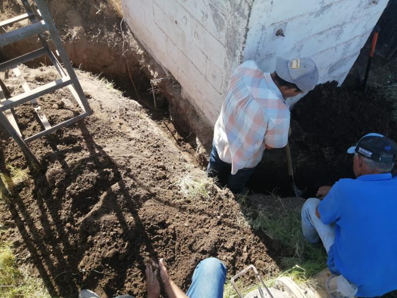 Se reestablece servicio de agua en el Campo 60