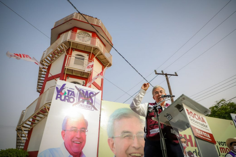 Por primera vez en Sinaloa, vamos a dar una alternancia de fondo: Rubén Rocha