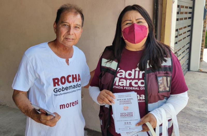 Legislar para empujar iniciativas que continúen beneficiando a quienes menos tienen: Yadira Marcos