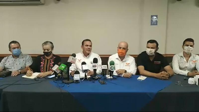 Sergio Torres asegura que por nada declinara de la candidatura