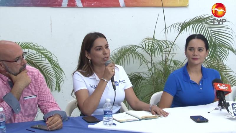 Denuncian daño a propaganda de candidatos de la alianza Va Por Sinaloa en Mazatlán