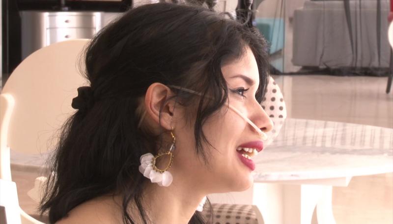 Diana Galaviz pide apoyo para un trasplante de pulmón