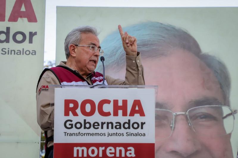 Instituciones financieras ven inminente triunfo de Rubén Rocha Moya