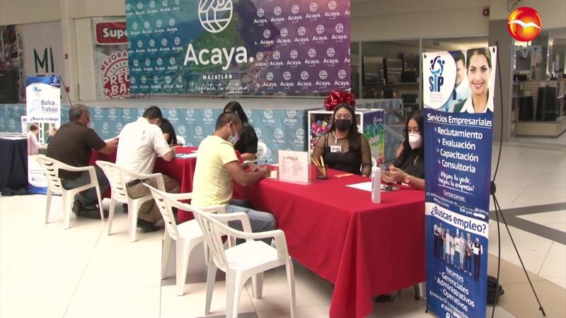 Se realiza con éxito la primera Feria del Empleo presencial en Mazatlán