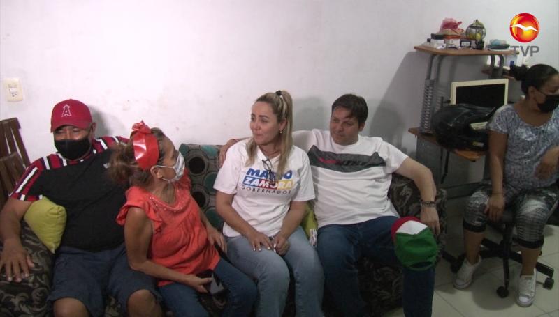 Mario Zamora duerme en casa de familia de Mazatlán