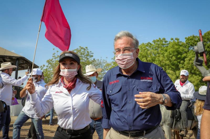 Propone Rocha Moya ampliar el almacenamiento de agua, reforestación, y recursos para atacar la sequía