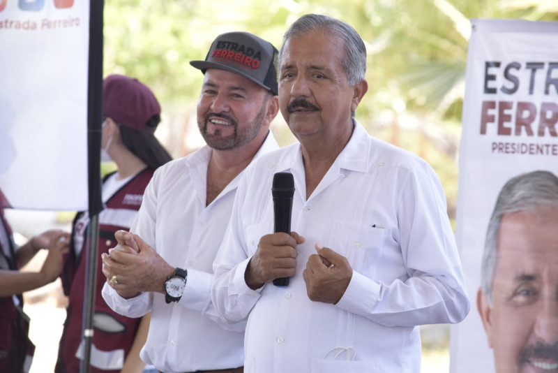 Jesús Estrada Ferreiro llama al voto parejo por Morena