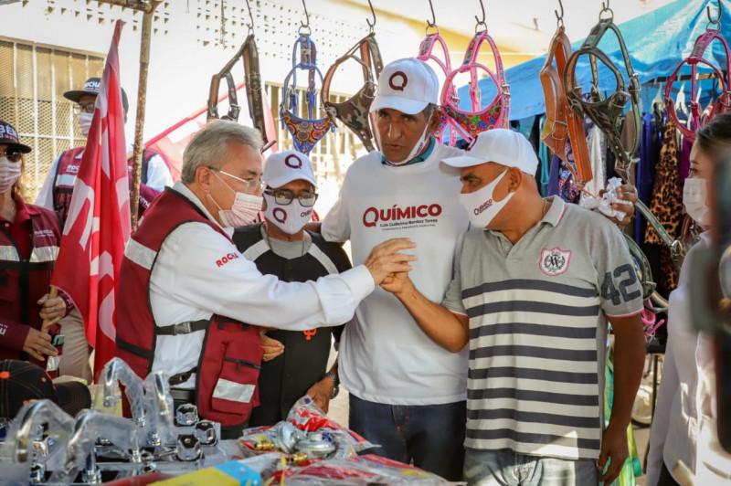 De la mano con los empresarios, convertiremos a Sinaloa en estado distribuidor de mercancías por mar y tierra: Rocha Moya