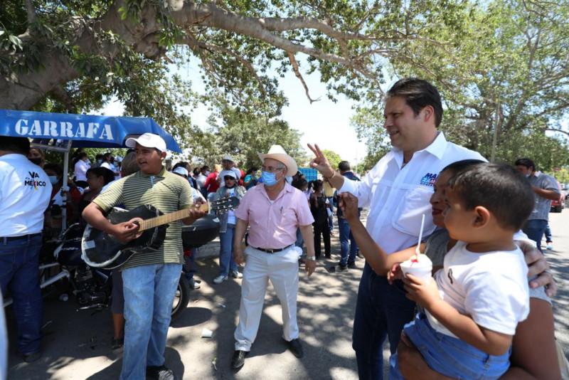 Cada día está más claro que Mario Zamora será gobernador de Sinaloa