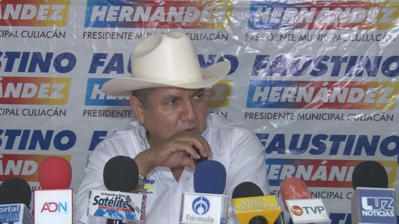 Faustino Hernández presenta programa municipal de atención a los jóvenes