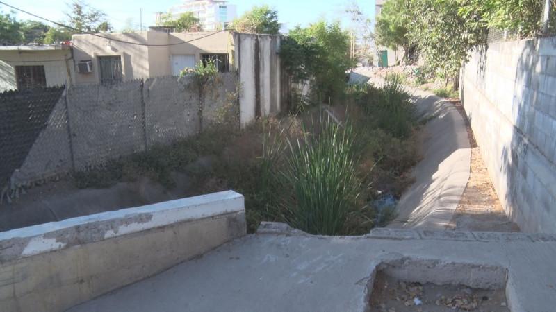 Maleza y basura no dejarán pasar el agua y podría haber inundaciones
