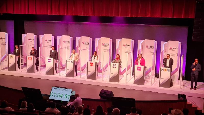 Todo listo para el segundo debate de candidatos a Gobernador