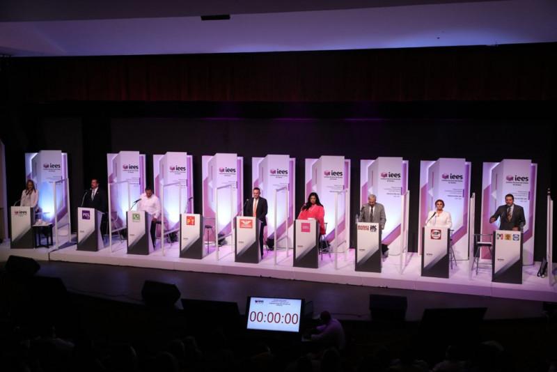 Encuesta confirma triunfo de Rocha en segundo debate, con el 73%